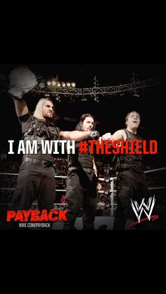 Belive in The Shield!!! SethRollins, Roman, Dean Ambrose, Jon Molex, WWE