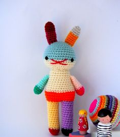 children toy amigurumi crochet rabbit