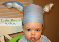 Bunny Ears Craft- pinned by @PediaStaff – Please Visit  ht.ly/63sNt for all our pediatric therapy pins