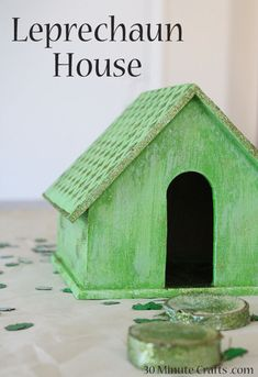 Leprechaun House - DIY Decor for St. Patrick's Day