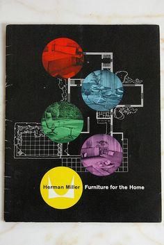 Vintage HERMAN MILLER brochure