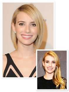 Emma Roberts Channels Victoria Beckham With Her New Haircut #InStyle