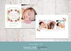 photo birth, birth announcements, floral wreaths, wreath babi