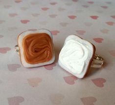 peanut butter and marshmallow fluff sandwich best friend rings