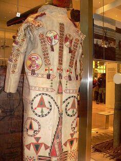 Sioux Native American buckskin coat