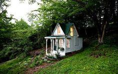 Shaded summerhouse