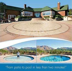From patio to pool in less than 2 minutes! #roofer #rooferhemet http://weathertightroofinginc.com