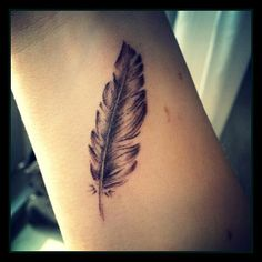Feather tattoo <3