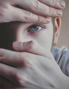 A fun interview with artist Tanja Gant, at ArtistsNetwork.com. ~ch Speak No Evil (colored pencil, 10×8) by Tanja Gant #portrait #art
