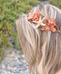 beachy flower crown