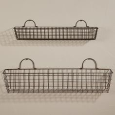 About Wall Decor On Pinterest Wire Baskets Baskets And The Wall