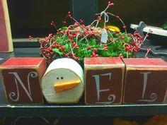 """""""NOEL"""" Block Letters... $15.00"""