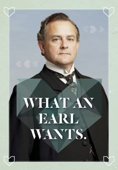 Free printable Downton Abbey Valentines! Love!