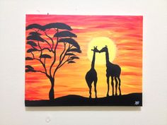This exotic and beautiful 11x14 canvas is painted with acrylic paint and protected with a coat of varnish. The canvas is a wooden framed canvas, so it is ready to hang up!   Give this piece a new home and you will also give to The Akumanyi Foundation, an organization working to empower at-risk youth and vulnerable women globally! (http://www.akumanyifoundation.org/#!art-for-a-cause/cg99)
