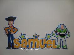 Apliques de Toy Story (Woody y Buzz Lightyear)