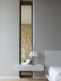 #architecture #design #interiors #bedroom #windows #modern #contemporary - House in Monasterios / Ramon Esteve