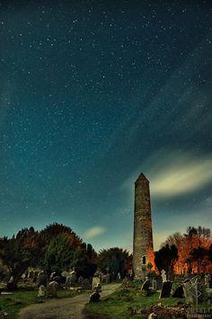 Glendalough, County Wicklow, Ireland.