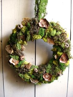 Garden Moss Wreath
