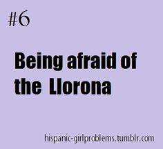 Hispanic girl problems!! Haha this was me growing up!