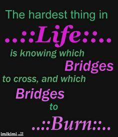 pesky bridges