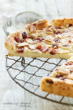 Cranberry Almond Wedges f