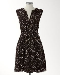 Loving this dress.  Why, oh why, must it be polyester?  Belted dotted dressWas $139.95 - $149.95Sale $89.99 +50% Off!