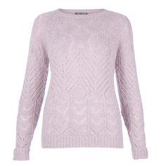 Pale Lavender Wool M