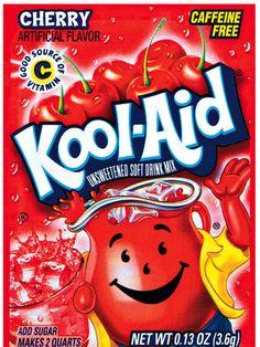 Kool-Aid = Easy cleaning!