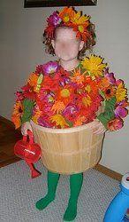 No-Sew Flower Pot Costume   AllFreeHolidayCrafts.com
