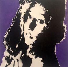 Mowgli Art x Plutonium™ Paint --> For Spraypaint & Whiskey Show at Amanda Harris Gallery. Las Vegas, NV. #PlutoniumPaint #SprayPaint #Art #StencilArt #GalleryShow #MowgliArt