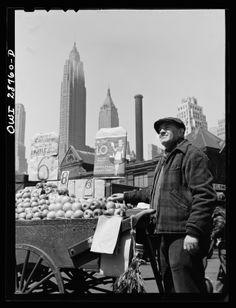 gordon parks… fruit vendor, fulton fish market, new york, 1943