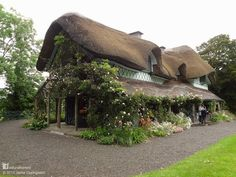 This is Swiss Cottage in Kilcommon, South Tipperary in the heart of Ireland. It was built in 1810, a fine example of a style called ornée, or ornamental cottage - Pixdaus