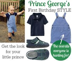Prince George celebrates his first birthday in style! #childstyle