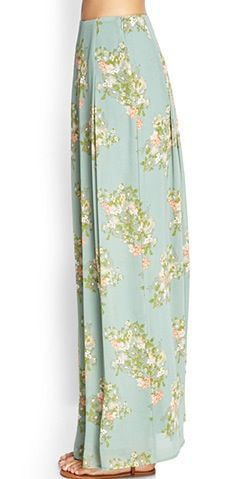 Pair this #maxi #skirt with any #croptop for a chic  #summer #outfit