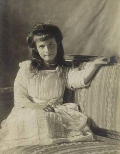 Anastasia Romanov, said to be the most mischievous & adventurous sister.