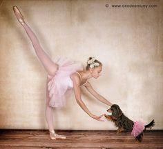 ballerina dachshund