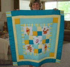 Nanna's First Project Linus Quilt