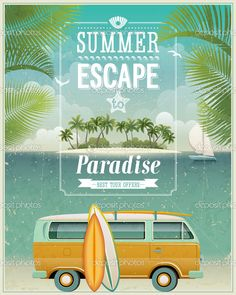 Summer escape to par