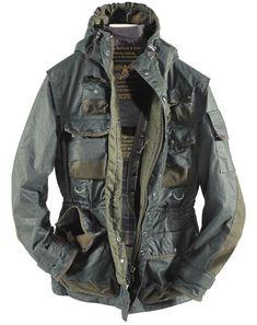 BARBOUR X TOKIHITO YOSHIDA | Military Jacket AW2010