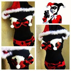 Harley Quinn inspired outfit by Rachel at Electric Laundry. <3