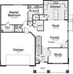 ivory homes floor plans on pinterest 162 pins basement home plans split level Basement Level B