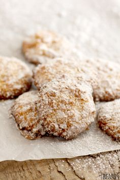 Orange Kissed Almond Cookies (Gluten and Dairy Free