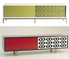 Mid century inspiration - these are new but there are those design elements