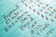 Learn how to create a monthly budget: Something every young couple needs to know.