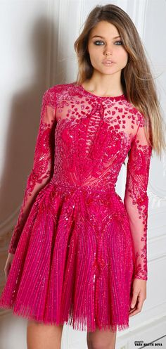 Zuhair Murad Fall/Winter 2014 RTW. I think I deserve this for my 30th birthday? #ultimatepartydress #wishfulthinking