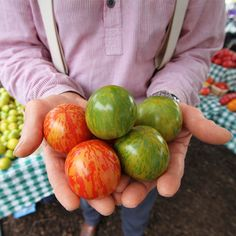 Tips to gardening with heirloom seeds.