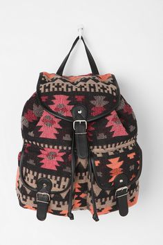 Ecote Sun-Faded Geometric Backpack  #UrbanOutfitters