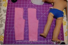 American Girl Doll Clothes tutorial