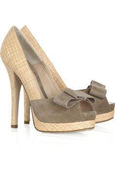Classic Fendi heels...