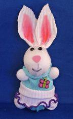 Sock Doll rabbit Craft From www.daniellesplace.com